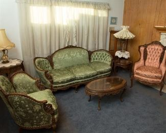 Antique King Henry 8th French Furniture