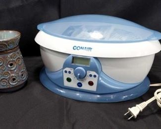 Deluxe Scentsy Warmer and Conair Paraffin Spa