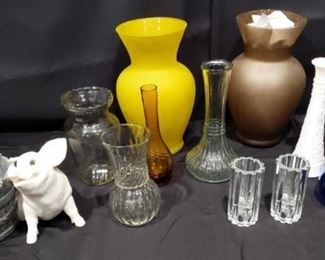 Vases and more Vases