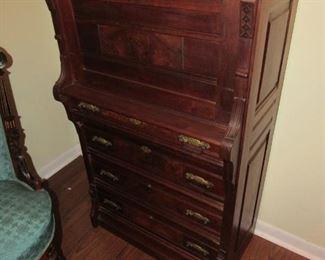 Walnut plantation style desk