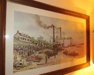 John Korver (local artist) signed print