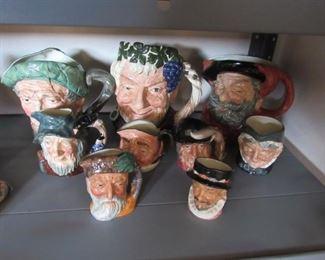Toby mug collection