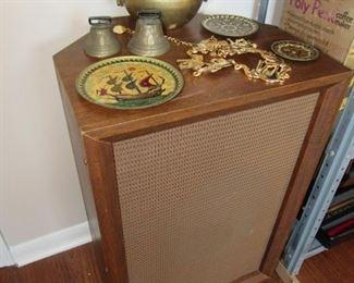 Mid Century walnut speaker