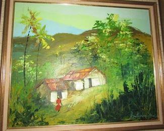 Original art oil painting