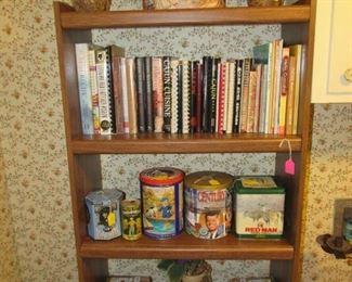 Cookbooks/tins