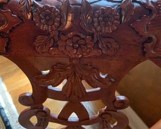 Detail of chair backs
