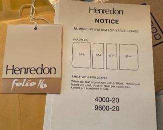 Henredon table
