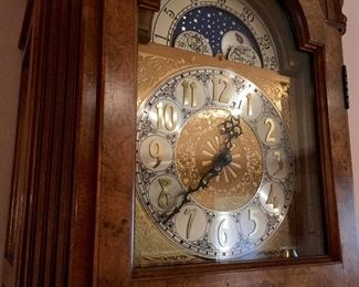BEAUTIFUL RIDGEWAY GRANDFATHER CLOCK. AVAILABLE FOR PRE SALE ( YOU CAN BUY IT EARLY ) SOLD!