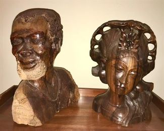 Wood carved collectibles