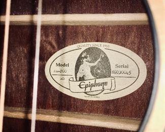 Gibson Epiphone guitar