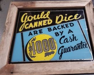 Gould Dice Sign