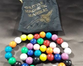 Shuttle Magnetic Marbles