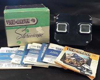 View-Master Stereoscope Vintage with the box and reels