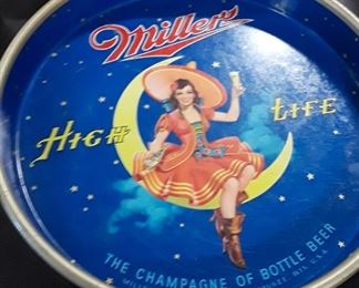 Miller's High Life Beer Tray