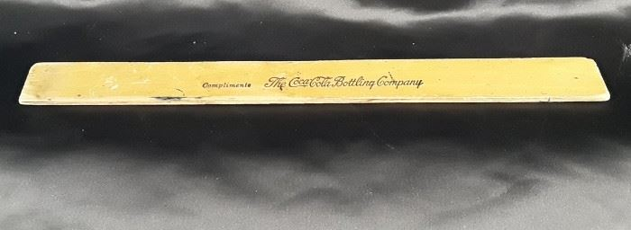 The Coca-Cola Bottling Company Ruler