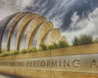 Kauffman Performing   Art Canvas