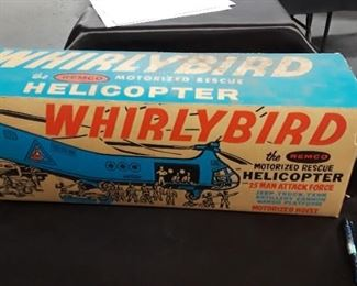Remco Whirlybird Helicopter