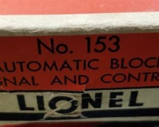 Lionel Automatic Block Signal and Control