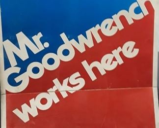 Mr. Goodwrench Sign