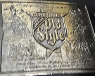 Old Style Belt Buckle