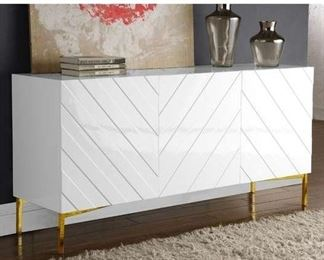 "Mercury Row Malcom 64"" Wide Birch Wood Sideboard"