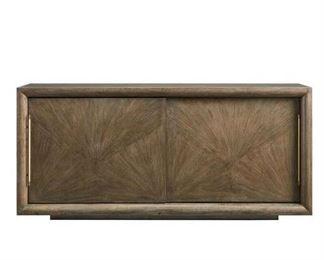 Stanley Furniture Panavista Credenza In Quicksilver