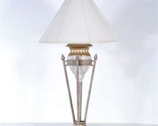 Neoclassical Urn & Spear Table Lamp