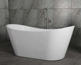 "B-0010 67""X32"" Freestanding Soaking Bathtub"
