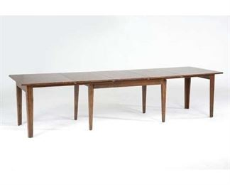 Birchley Extendable Solid Wood Dining Table