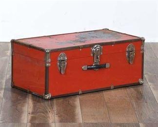 Red Storage Trunk
