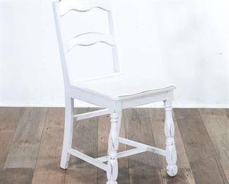 White American Colonial Dining Chair