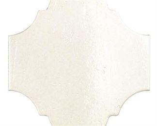 53 Sqft Appaloosa Porcelain Field Tile In White