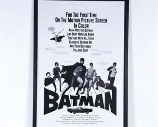 Batman 1966 Movie Lobby Poster
