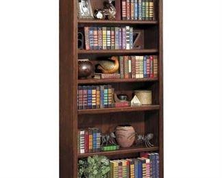 Darby Home Reynoldsville Standard Bookcase In Burnish