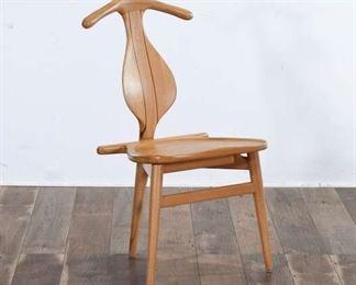 Danish Modern Valet Chair