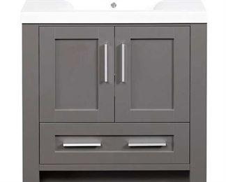 """Ebern Designs Cedeno 35"""" Single Bathroom Vanity Set"""