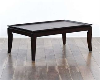 Contemporary Saber Leg Coffee Table