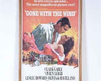 Gone With The Wind Movie Lobby Poster
