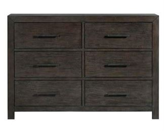 Gracie Oaks Mccorkle 6 Drawer Double Dresser