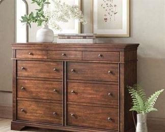 Birch Lane™ Heritage Schaffer 9 Drawer Double Dresser