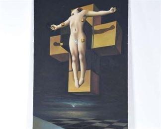 Large Salvador Dali Crucifixion