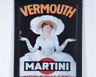 Print Martini Vermouth Advertisement