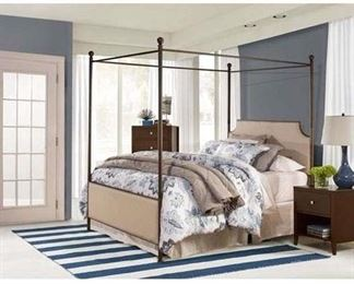 Mcarthur King Size Canopy Set Only In Bronze