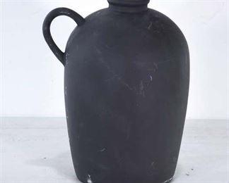 H&M Home Carved Solid Wood Jug Vase
