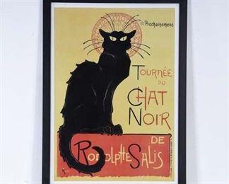 Large Print Théophile Steinlen Tournée Du Chat Noir