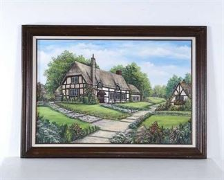 Tudor Cottage Landscape