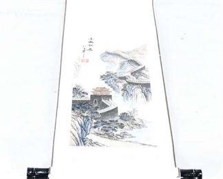 Great Wall Of China Scroll