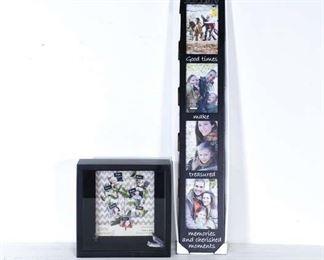 Pair Decorative Picture Frames