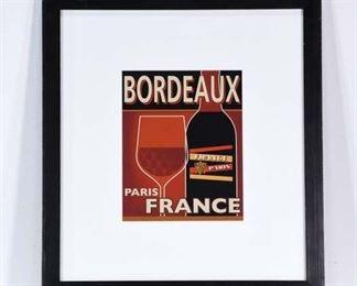 Bordeaux Paris France Wine