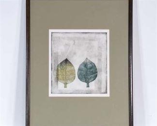 Contemporary Leaf Portraits